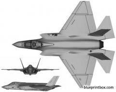 lockheed martin f 35c lightning ii 2 model airplane plan
