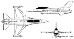 lockheed martin general dynamics f 16b fighting falcon model airplane plan