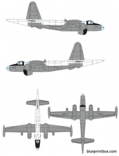 lockheed p 2h neptune model airplane plan