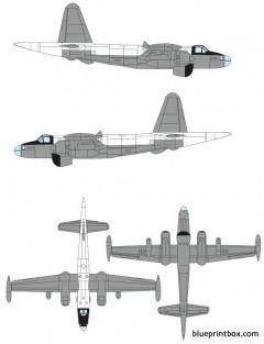 lockheed p 2h neptune model airplane plan