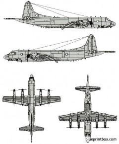 lockheed p 3c orion model airplane plan