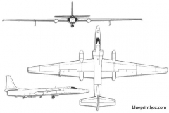 lockheed tr 1 model airplane plan
