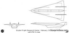 loflyte model airplane plan