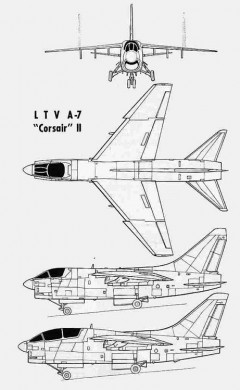ltv a7 3v model airplane plan