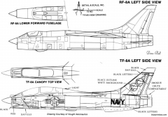 ltv f 8e crusader 4 model airplane plan
