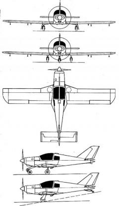 lucas5 3v model airplane plan