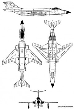 mac donnell f 101 voodoo model airplane plan