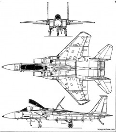 mac donnell f 15 model airplane plan