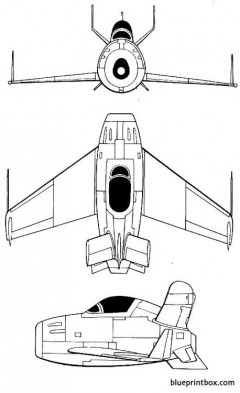 mac donnell xf 85 goblin model airplane plan