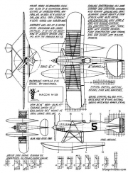 macchi m 39 model airplane plan