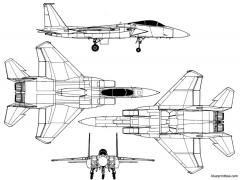 macdonnell douglas f 15c eagle model airplane plan