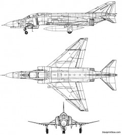 macdonnell douglas f 4e phantom ii model airplane plan