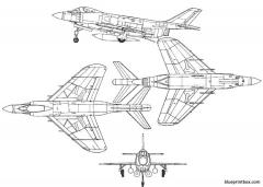 macdonnell f 3 demon model airplane plan
