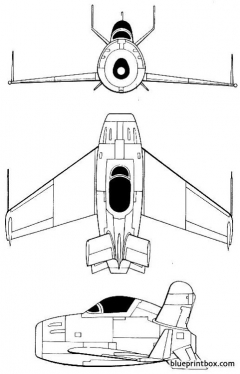 macdonnell xf 85 goblin model airplane plan