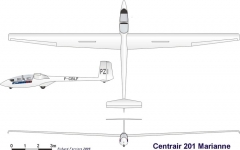 marianne 3v model airplane plan