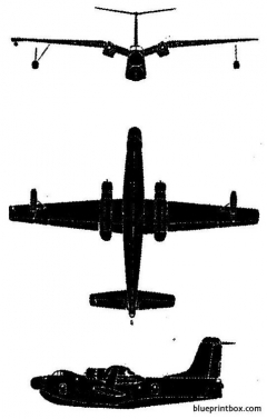 martin marlin model airplane plan