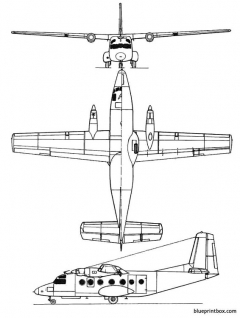 max holste mh 260 superbroussard model airplane plan