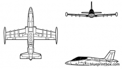 mb 339 a model airplane plan