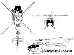 mbb bo 108 model airplane plan