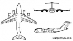 mcdonell douglas c 17a globemaster model airplane plan