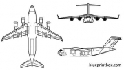 mcdonell douglas c 17a globemaster 2 model airplane plan