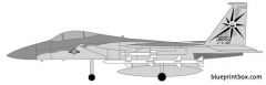 mcdonell douglas f 15c eagle model airplane plan