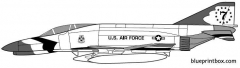 mcdonell douglas f 4j phantom ii model airplane plan