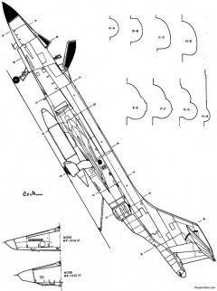 mcdonell f 101 model airplane plan