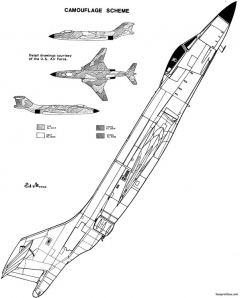 mcdonell f 101 11 model airplane plan