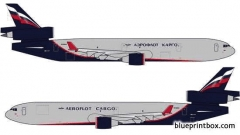 mcdonnel douglas md 11f model airplane plan