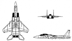 mcdonnell douglas f 15 eagle model airplane plan