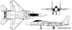 mcdonnell douglas f 15c eagle 03 model airplane plan