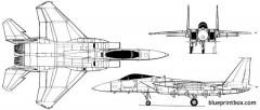 mcdonnell douglas f 15c eagle 03 model airplane plan