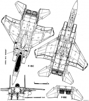 mcdonnell douglas f 15s eagle 2 model airplane plan