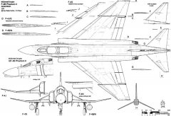 mcdonnell douglas f 4 phantom ii 2 model airplane plan