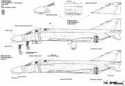 mcdonnell douglas f 4 phantom ii 3 model airplane plan