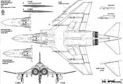 mcdonnell douglas f 4 phantom ii 5 model airplane plan