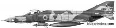 mcdonnell douglas f 4es phantom ii idf model airplane plan
