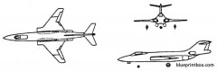 mcdonnell f 101 voodoo model airplane plan