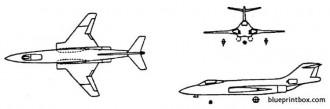 mcdonnell f 101 voodoo model airplane plan