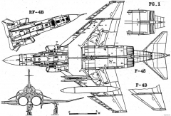 mcdonnell f 4b e s phantom 2 model airplane plan