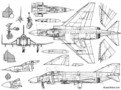 mcdonnell f 4n phantom ii model airplane plan
