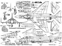 mcdonnell f 4n phantom ii 2 model airplane plan