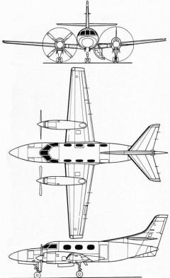 merlin 3v model airplane plan