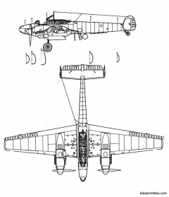 messerschmitt bf 110g 2 model airplane plan