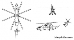 mi 26 halo model airplane plan