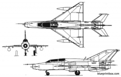 mig 21 um model airplane plan
