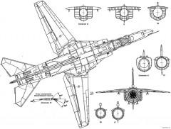mig 23vn model airplane plan