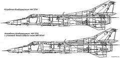mig 27 6 model airplane plan