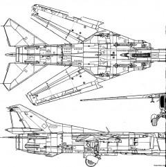 mig 27tif model airplane plan